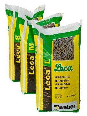 Kergkruus (keramsiit) 50 L kott Leca  S (fr. 2-4)