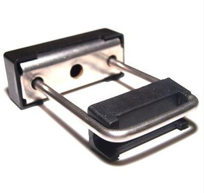 Nelikantposti klamber 40x60mm (metall)