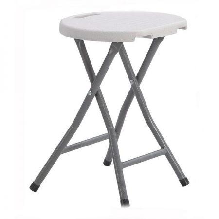 Kokkupandav tool-taburet (ümar)