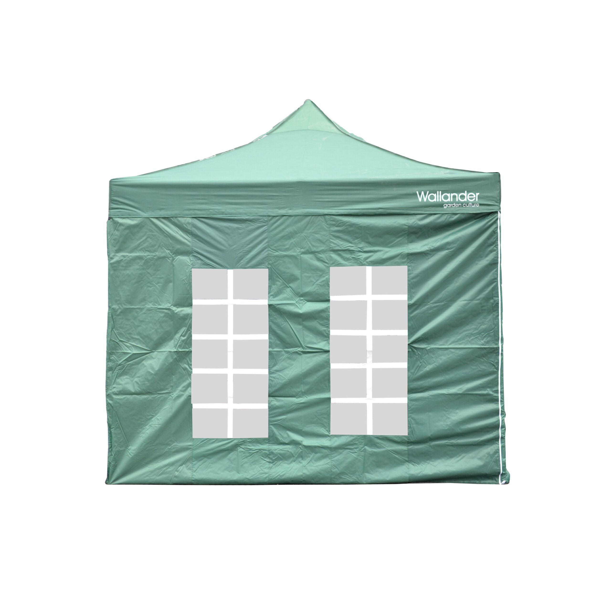 POP UP aiatelk, katus ja raam, tumeroheline, WALLANDER