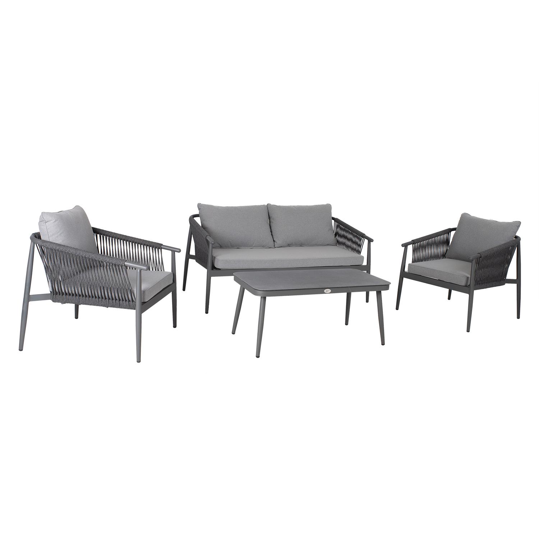 Komplekt WEILBURG laud, diivan, 2 tooli